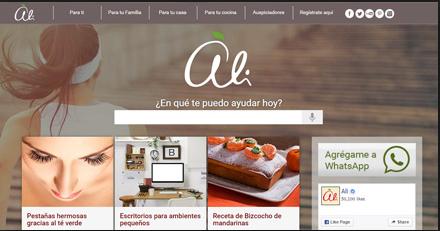 Marketing de contenidos - Ejemplos Alicorp Diariamente Ali