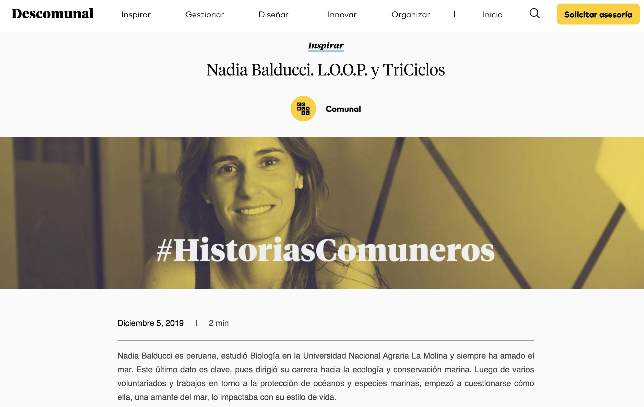 Marketing de contenidos - Ejemplos Comunal