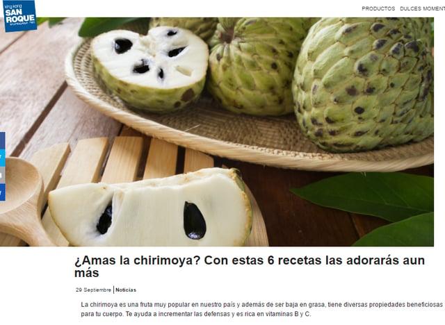 Marketing de contenidos - Ejemplos San Roque