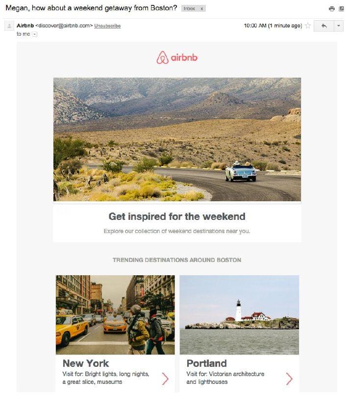 Airbnb Ejemplos Inbound Marketing