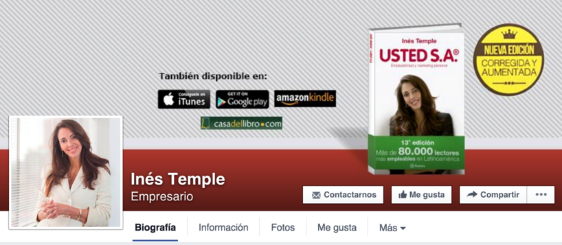 Inés Temple Marca personal - impulse