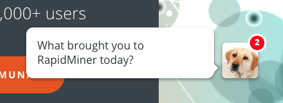 RapidMiner Conversational Marketing