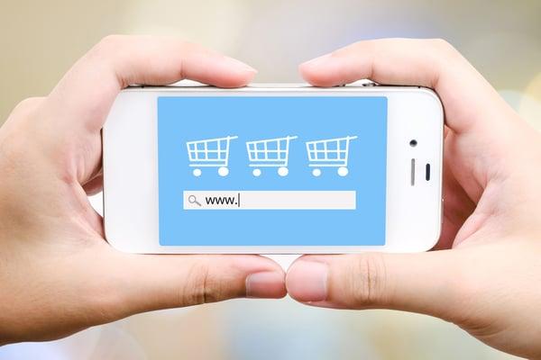 como funciona una tienda online