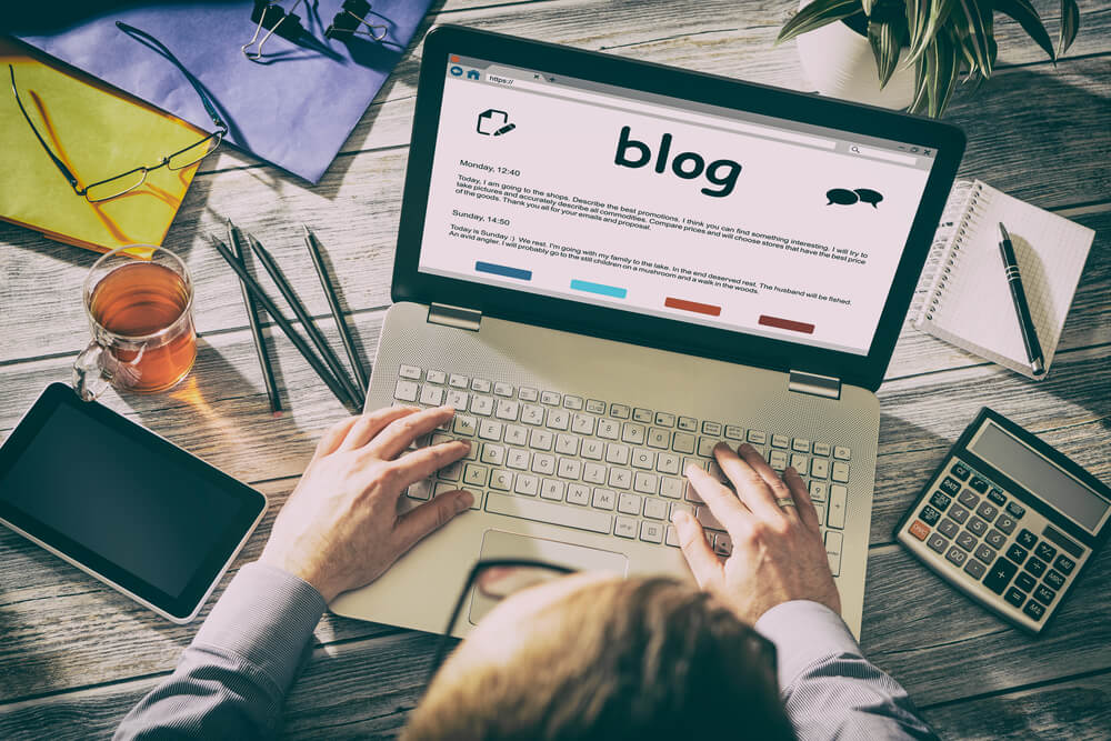contenido de un blog