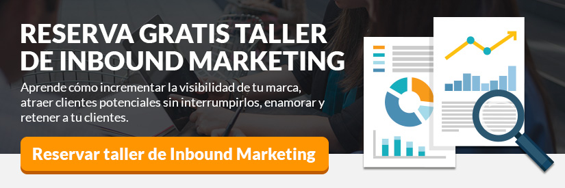 Reserva taller de inbound marketing gratuito