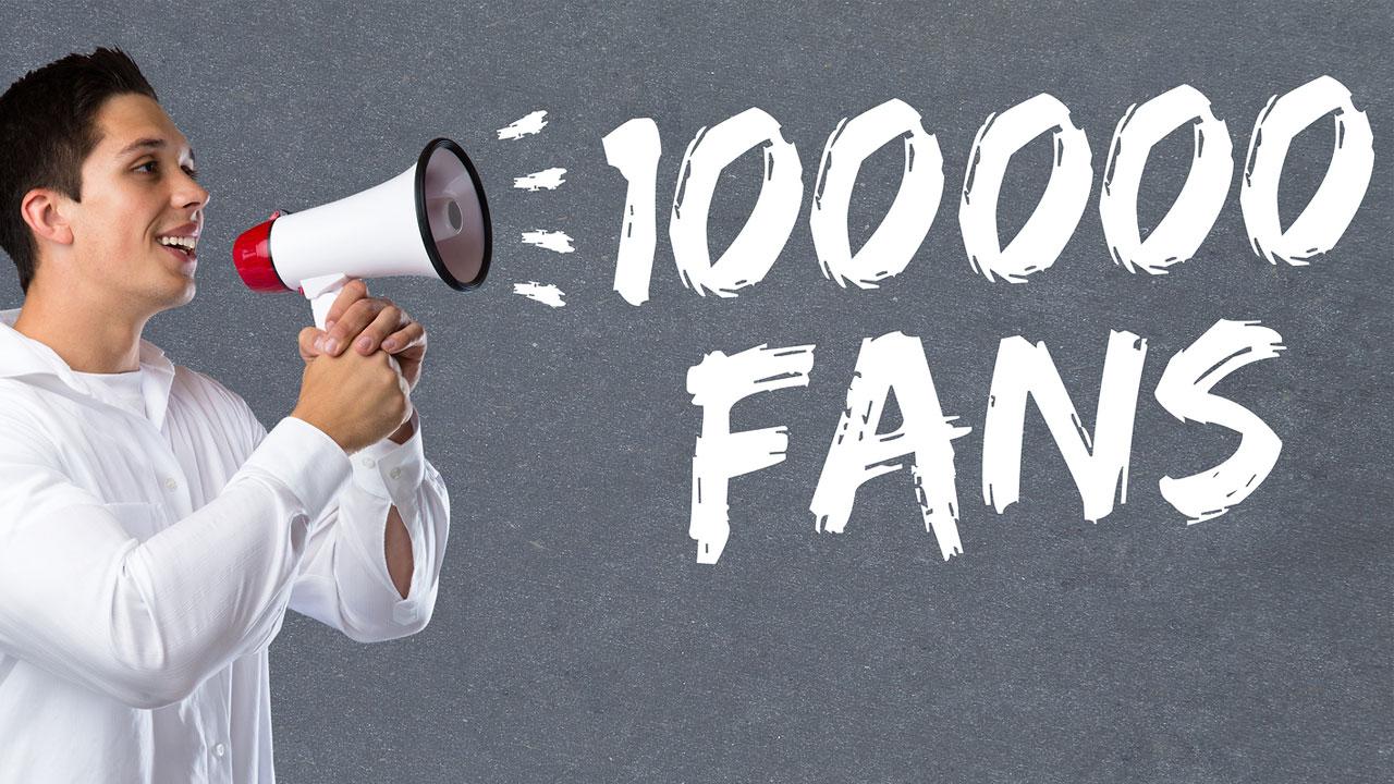 4 estrategias de redes sociales para negocios con 100 mil fans o más