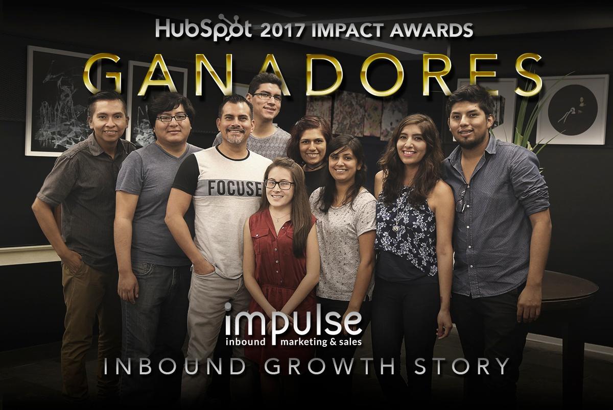 Impulse y Oncosalud ganan premio como mejor historia de crecimiento con inbound en los Hubspot Impact Awards 2017